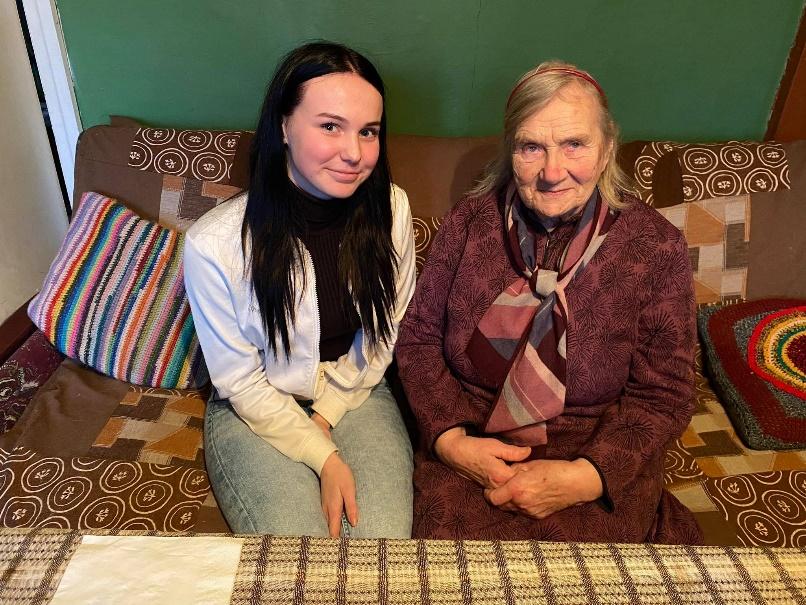 Praegune õpilane Anett ja endine õpetaja Leili
